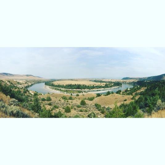 Flathead River, Round Butte, MT